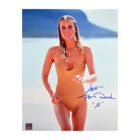Bo Derek // Autographed Running on Beach