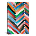 """Watercolor Abstract VI // Albina Bratcheva (12""""W x 18""""H x 0.75""""D)"""
