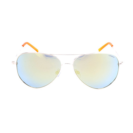 Polaroid // Unisex PLD6012N Sunglasses // Gold + Blue