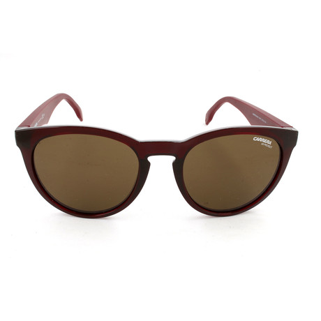 Carrera // Unisex CA5040S Sunglasses // Burgundy
