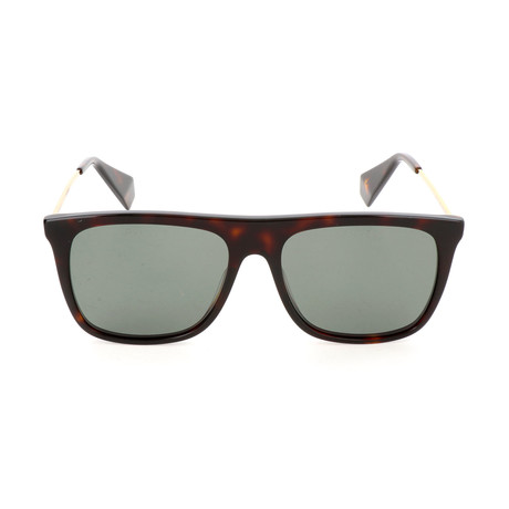 Polaroid Premium // Unisex PLD6046SX Sunglasses // Dark Havana + Gold