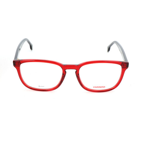 Carrera // Unisex CA148 Optical Frames // Red + Black