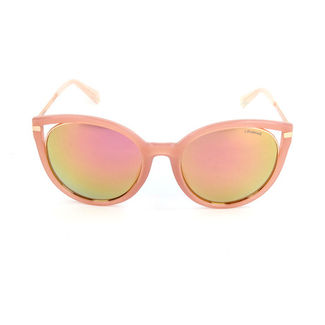 Polaroid // Women's PLD4067FS Sunglasses // Pink + Gold