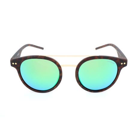 Polaroid // Unisex PLD6031S Sunglasses // Matte Havana + Teal