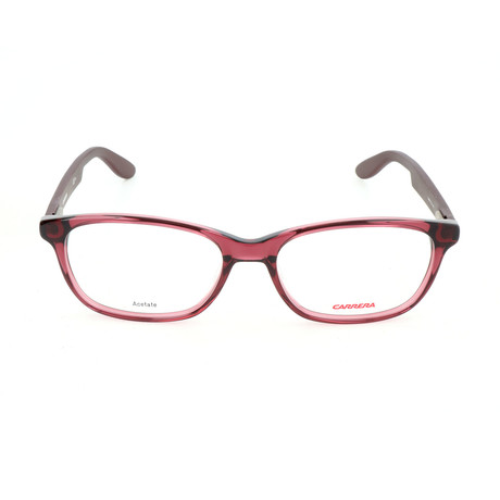 Carrera // Men's CA9912 Optical Frames // Burgundy