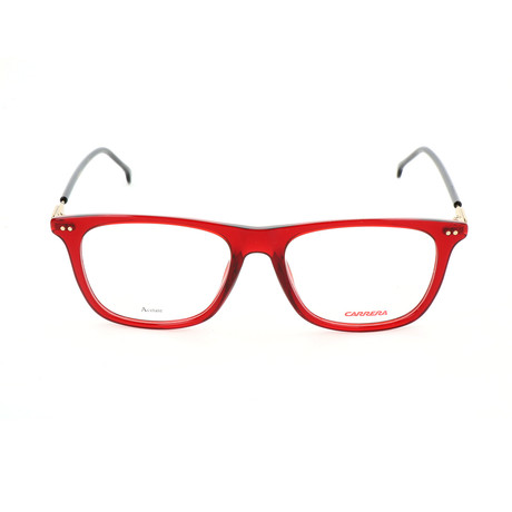 Carrera // Unisex CA144V Optical Frames // Red + Black