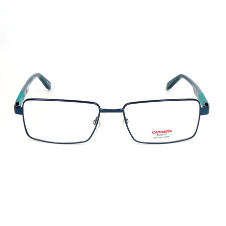 Carrera // Men's CA8819 Optical Frames // Matte Blue