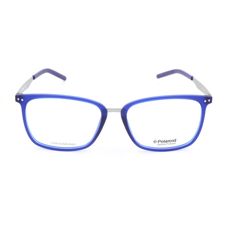 Polaroid // Men's PLDD402 Optical Frames // Blue