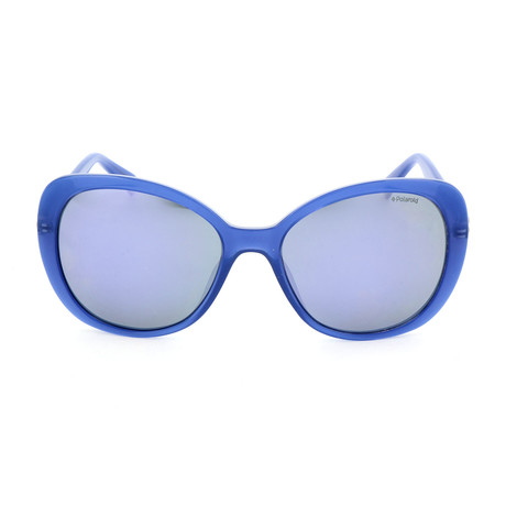 Polaroid // Women's PLD4063SX Sunglasses // Blue