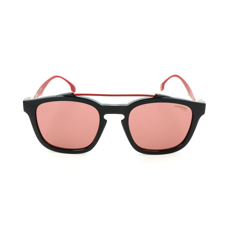 Carrera // Unisex CA1011S Sunglasses // Black + Red