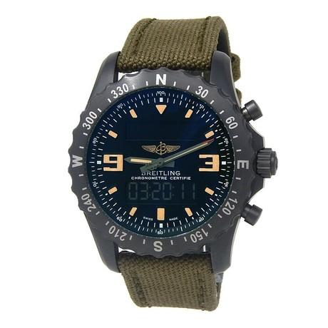 Breitling Chronospace Military Quartz // M78366 // Pre-Owned