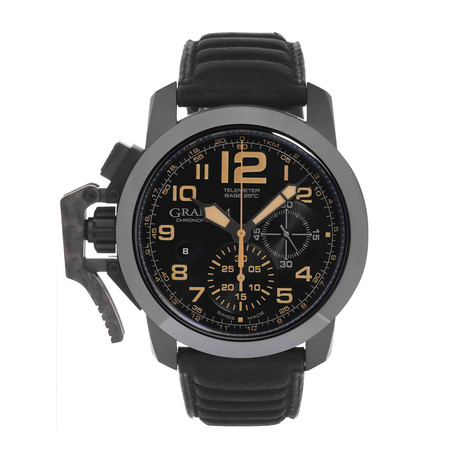 Graham Chronofighter Oversize Black Sahara Automatic // 2CCAU.B02A L // Store Display