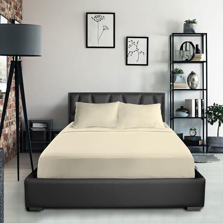 Bamboo Blend Bedsheets // Cream (Twin XL)
