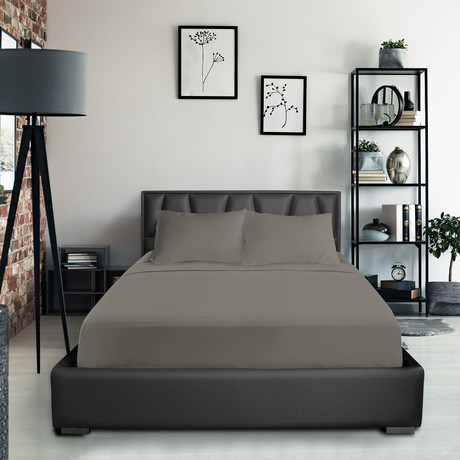 Bamboo Blend Bedsheets // Gray (Twin XL)