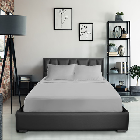 Bamboo Blend Bedsheets // Silver (Twin XL)