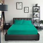 Bamboo Blend Bedsheets // Turquoise (Twin XL)