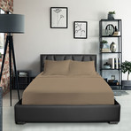 Bamboo Blend Bedsheets // Tan (Twin XL)