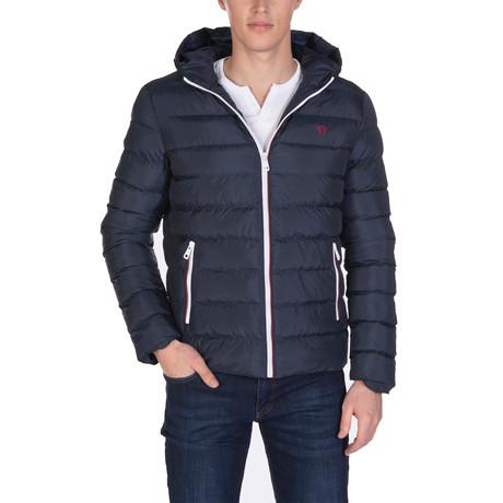 Bertran Coat // Navy (S)