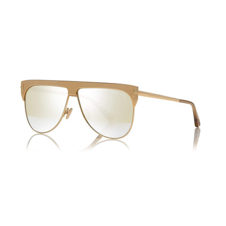 Unisex 18K Gold Plated Limited Edition Winter Sunglasses // Yellow Gold