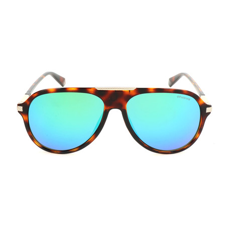 Polaroid // Men's PLD2071GSX Sunglasses // Dark Havana