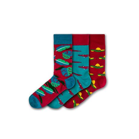 Oakwood Theme Park Socks // Set of 3