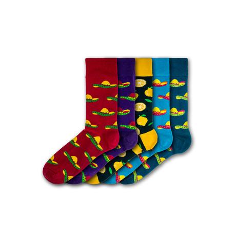 Drayton Manor Socks // Set of 5