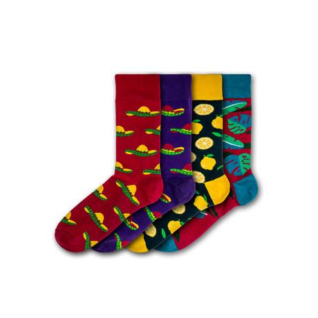 Lightwater Valley Socks // Set of 4