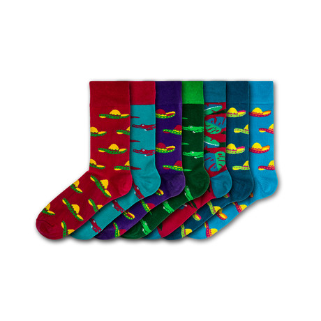 Windsor Resort Socks // Set of 7
