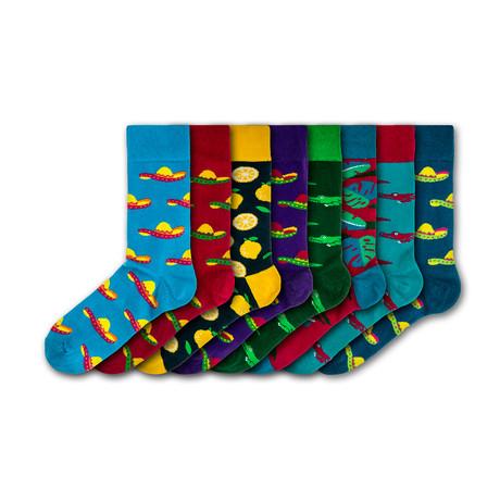 Chessington World of Adventures Resort Socks // Set of 8