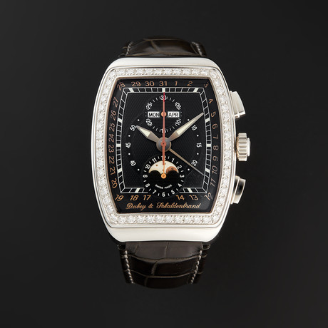 Dubey & Schaldenbrand Grand Chronograph Astro Automatic // AGCA54/ST/BKS // Store Display