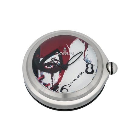 Corum Bubble Joker Quartz Desk Clock // 0092/00002 // New