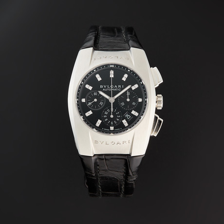 Bulgari Ladies Ergon Chronograph Automatic // EG35BSLDCH/12 // Store Display
