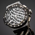 Hublot Ladies Big Bang Zebra Chronograph Automatic // 341.CV.7517.VR.1975 // Store Display