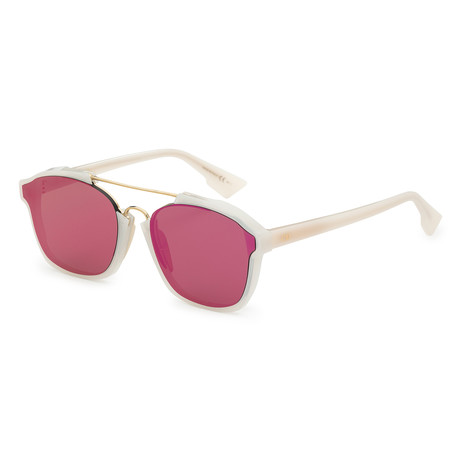 Women's Abstract Sunglasses // Milk + Violet Mirror