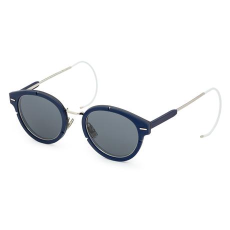 Men's Magnitude Sunglasses // Palladium Blue + Dark Gray