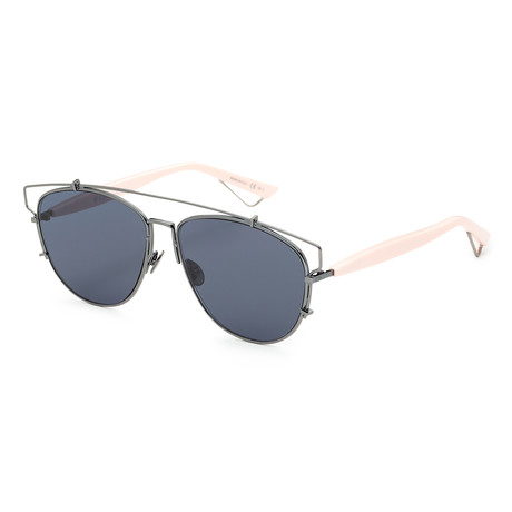 Unisex Technologic Sunglasses // Pink + Blue