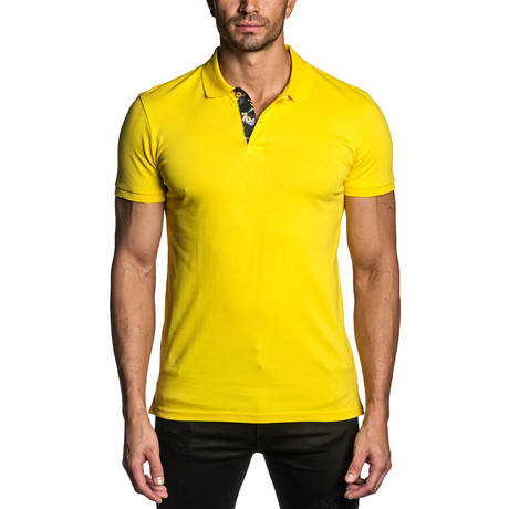 Knit Polo // Yellow (S)