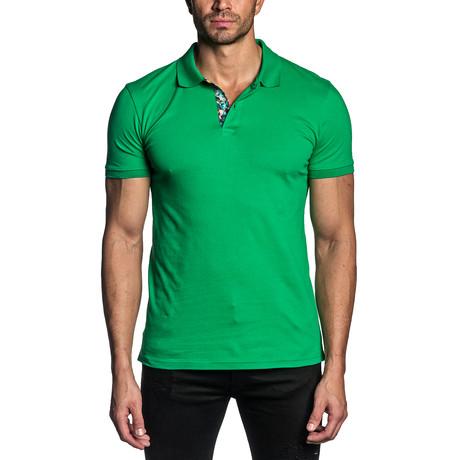 Patrick Knit Polo // Green (S)