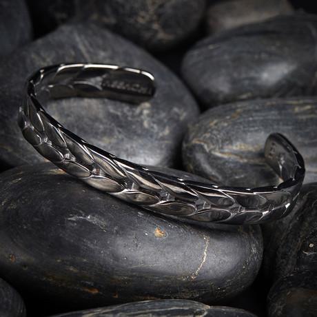 Corn Cuff Bracelet // Silver (XS-S)