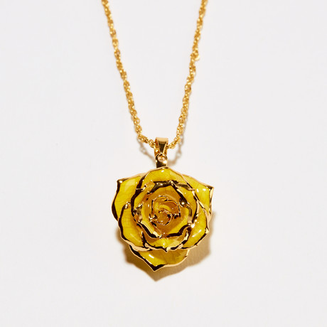 Goldenrod Gift Eternal Necklace