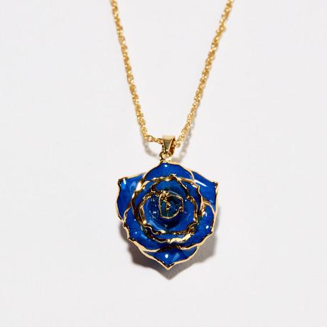 Blue Velvet Eternal Necklace