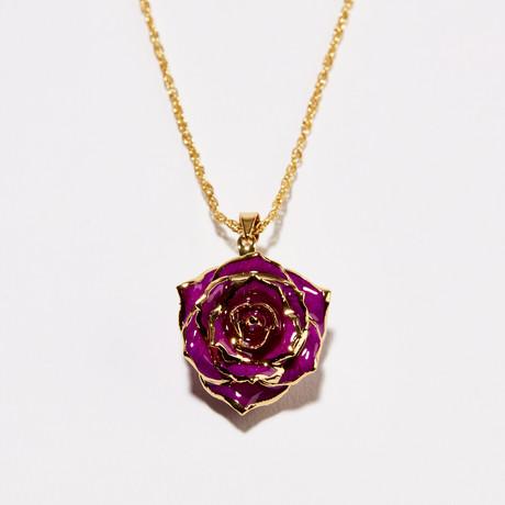 Fuchsia Bloom Eternal Necklace