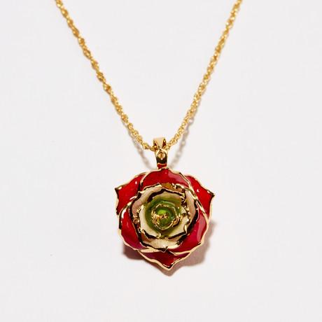Revolutionary Rose of Lebanon Eternal Necklace