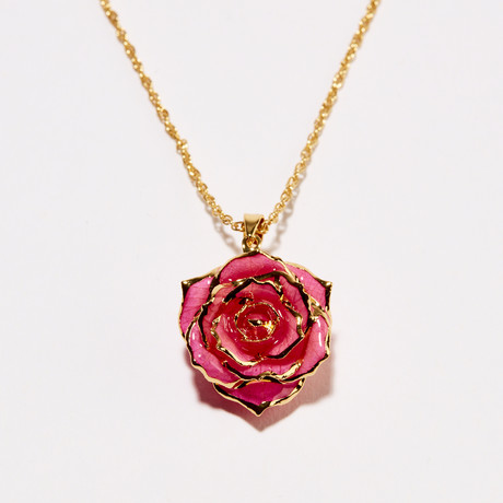 Pink Perfection Eternal Necklace