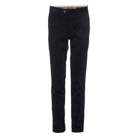 Thomas Corduroy Chino // Black (28WX30L)