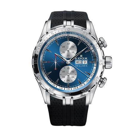 Edox Grand Ocean Chronograph Automatic // 01121 3C BUIN // New