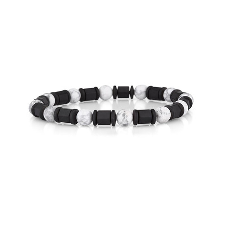 El Capitan Bracelet // Black + White