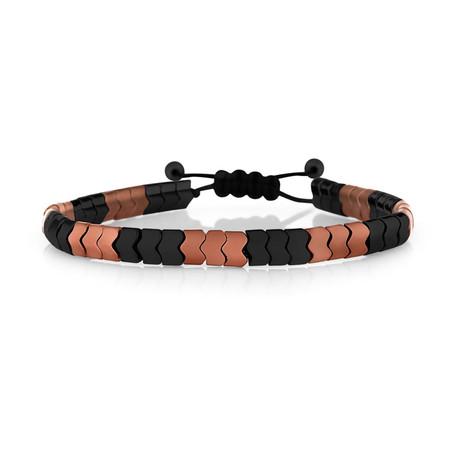 Kilimanjaro Bracelet // Rose + Black