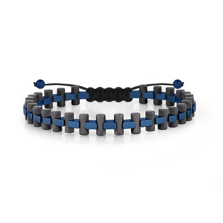 Mauna Kea Bracelet // Black + Navy Blue