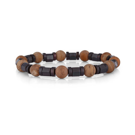 Fuji Bracelet // Black + Brown